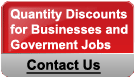 Quantity Discount for Businesses and Government Jobs